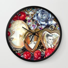 Family Jewels Wall Clock