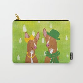 Pharaoh Hounds Watercolor Carry-All Pouch