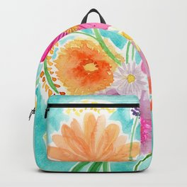 Bright Spring Bouquet Backpack