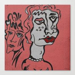 Treacherous sisters Canvas Print