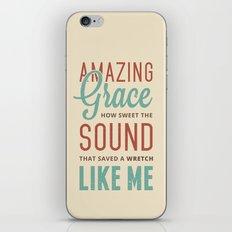 Amazing Grace iPhone & iPod Skin