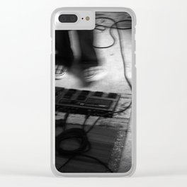 Tap For Effect Clear iPhone Case