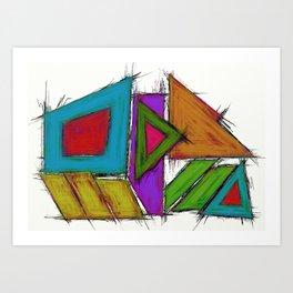 Compactor Art Print