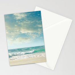 beach love tropical island paradise Stationery Cards