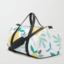 Lemon & Blueberry Pastel Duffle Bag