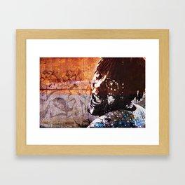 The Black Guy Framed Art Print