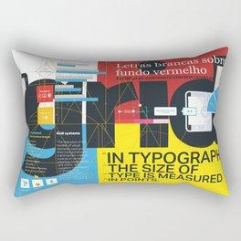 Grid Design Rectangular Pillow