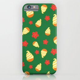 Tiki Birds Ice Cream Date iPhone Case