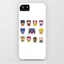 Pixel X-Men iPhone Case