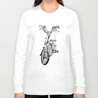 brompton Long Sleeve T-shirts featuring Brompton by Swasky
