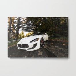Maserati Gran Turismo Metal Print