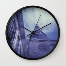 Holga Double Exposure: Eglise Saint-Paul-Saint-Louis, Paris  Wall Clock