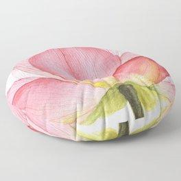 Pink lotus #2 Floor Pillow