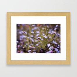 intoxicating flora Framed Art Print