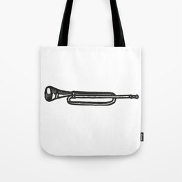 Trumpet Trompeta Trompette Trompete труба Tote Bag