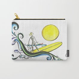 Girl Surfer Carry-All Pouch