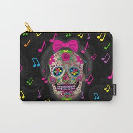 Sugar Skull Music Carry-All Pouch