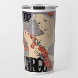 Virgo zodiac sign Travel Mug
