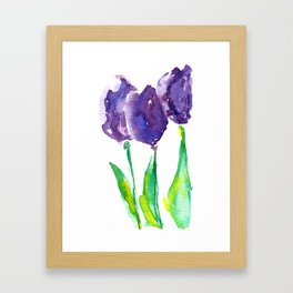 flower X Framed Art Print