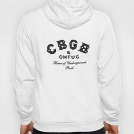 Cbgb Omfug Raglan Punk Rock Cbs Underground Baseball T-Shirts Hoody