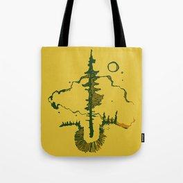 black spruce Tote Bag