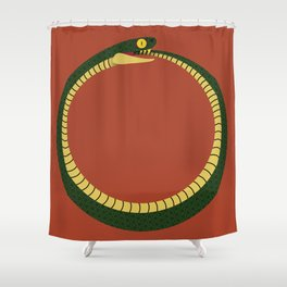 Ouroboros Shower Curtain