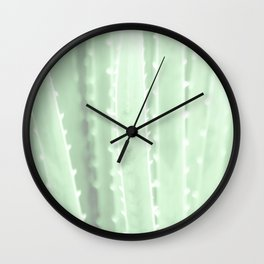 """Green Agave"" by Murray Bolesta! Wall Clock"