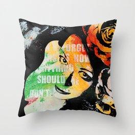 Sick On Sunday II Throw Pillow