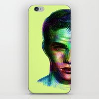 boy iPhone & iPod Skins featuring Boy by Ana Montaño