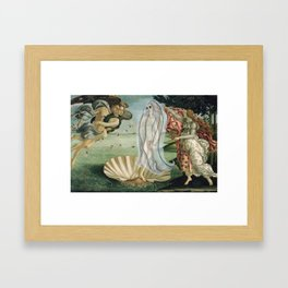 """Birth of Ghost Venus"" / Sandro Botticelli Framed Art Print"