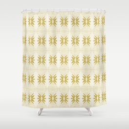 STAR STITCH Shower Curtain