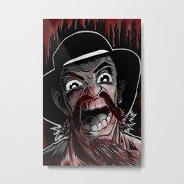 Cannibal! The Musical Metal Print