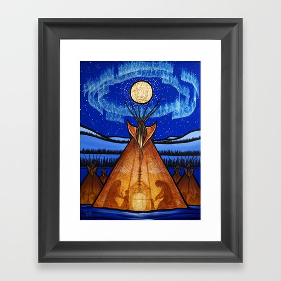 Returning Home Framed Art Print