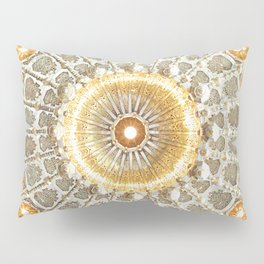 Arabic Pattern Circle Pillow Sham