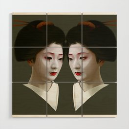 Geiko Wood Wall Art