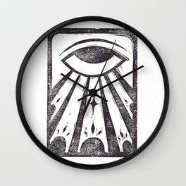 Clarity (White) Wall Clock