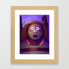 Muppet Maniac - Rowlf Lector Framed Art Print