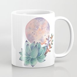 Succulent Full Moon Coffee Mug