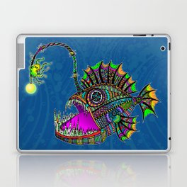Electric Angler Fish Laptop & iPad Skin