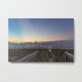 Sunrise View Metal Print
