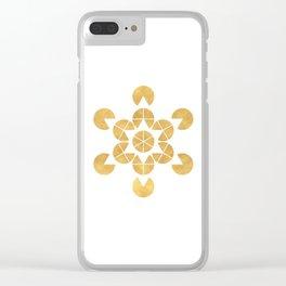 STAR TETRAHEDRON MERKABA sacred geometry Clear iPhone Case