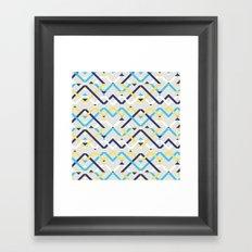 Navy Framed Art Print