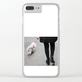 walking Clear iPhone Case