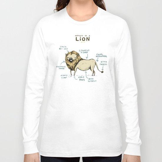 Anatomy of a Lion Long Sleeve T-shirt