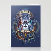 borderlands Stationery Cards featuring Tales from the Borderlands - Do it for Her by animatenowsleeplater