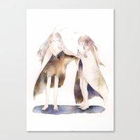 fairies Canvas Prints featuring fairies by accaruru