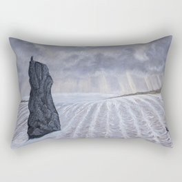 Frozen Field Megalith Rectangular Pillow
