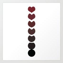 Evolution and Love Art Print