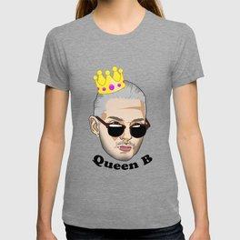 Queen B - Black Text T-shirt