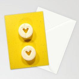 Yellow Valium Stationery Cards